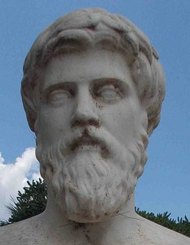 Plutarch-statue