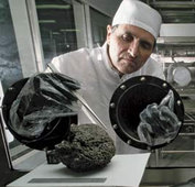 scientists-analysing-moon-rock