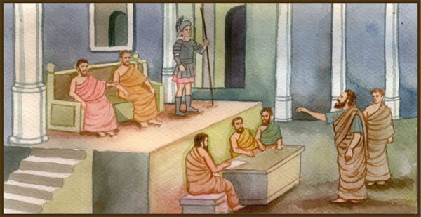 Anaxagoras in court