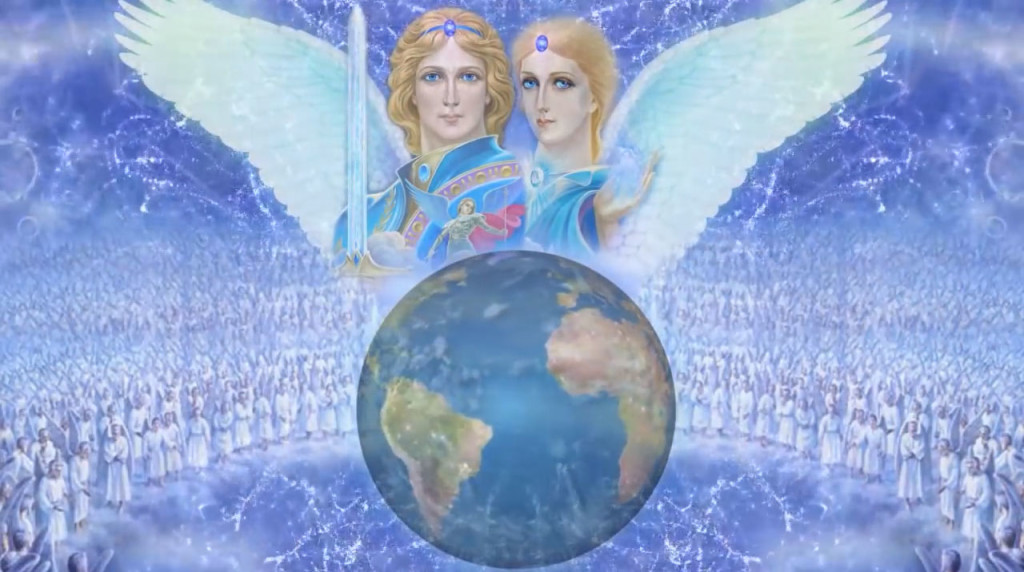 ascended masters projecting to earth
