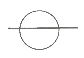 Line-through-cycle