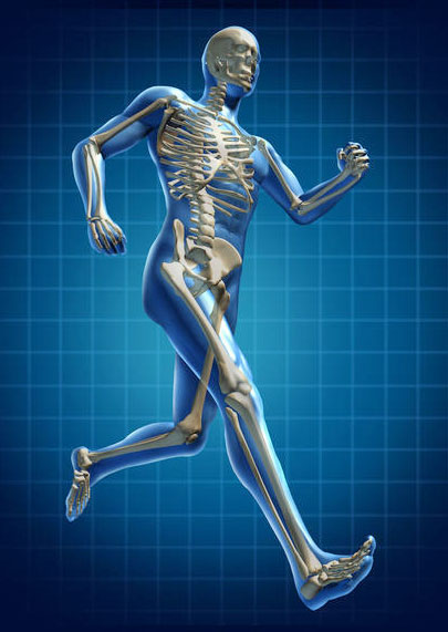 man-running-bone-structure-4-post