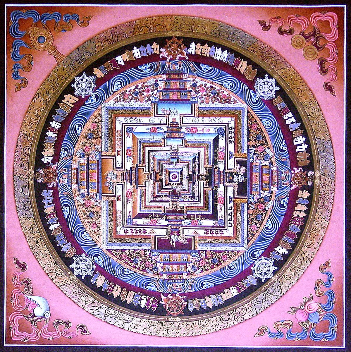 buddhist depiction of shambhalla