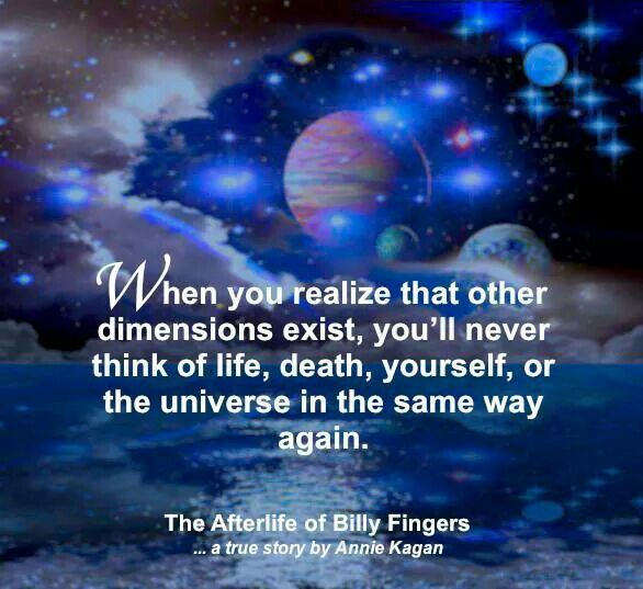 Quote from The Afterlife of Billy Fingers