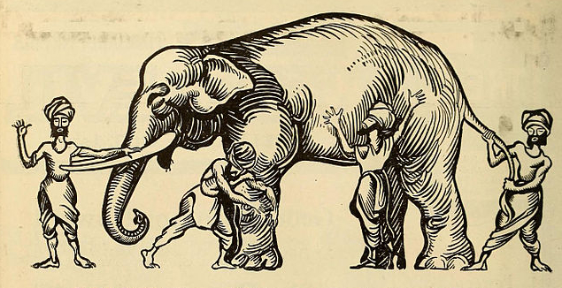 elephant and the four blind men