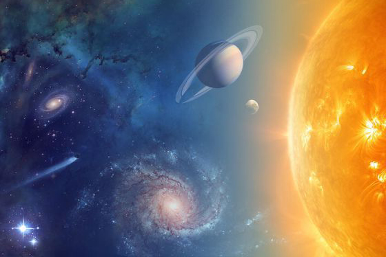 space planets sun 4 post